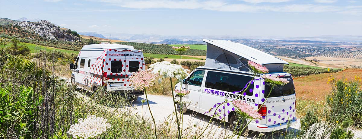 Campervan hire Andalusia