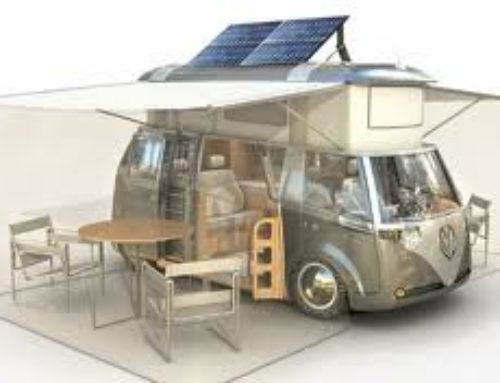 Volkswagen campervan of the future.