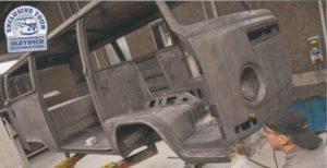 """Conservando el pasado, la colección """"VW Oldtimer""""."""