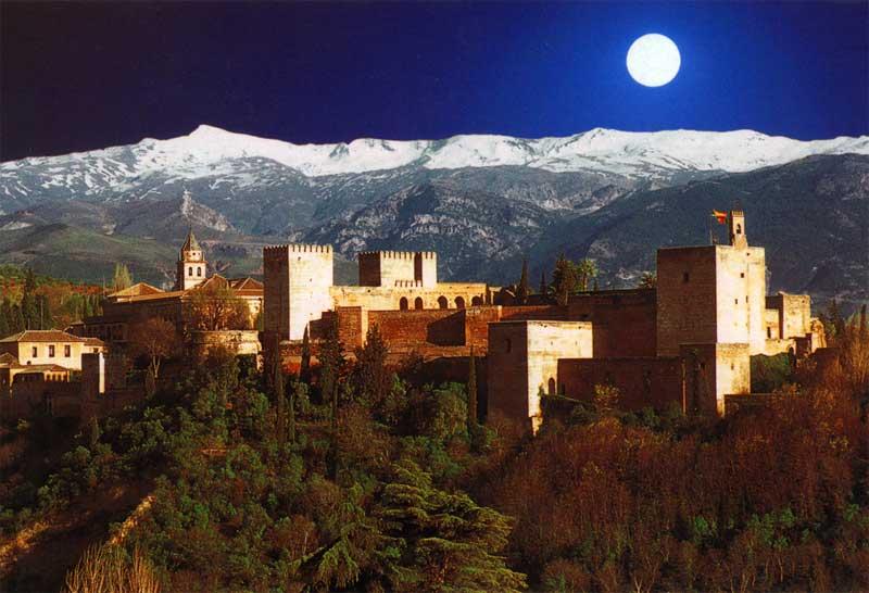 Granada en Furgoneta Camper con niños