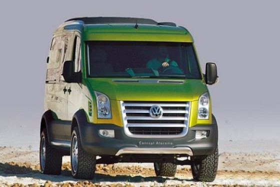 vw crafter atacama 4wd an all off road campervan - Toda una camper off-road, VW Crafter Atacama 4WD.
