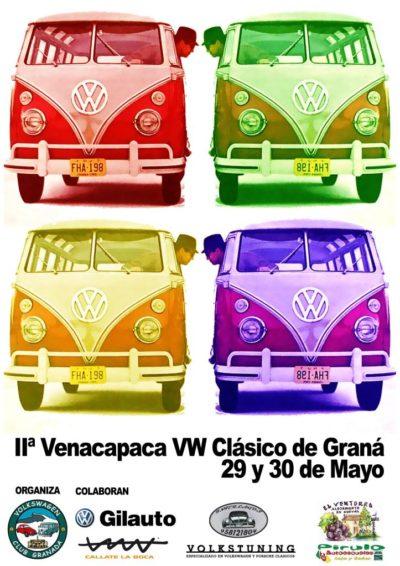 concentracion venacapaca vw clasico de granada - Concentración Venacapacá VW Clásico de Granada