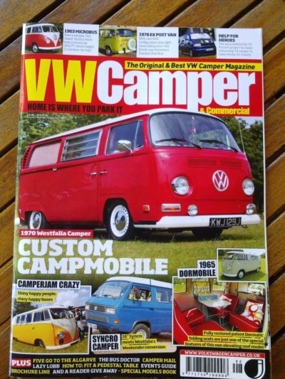 flamenco campers in the vw camper commercial magazine - Flamenco Campers en la revista VW Camper & Commercial