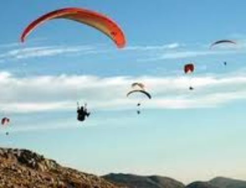 Paragliding in Andalusia, the paradise of the winds.