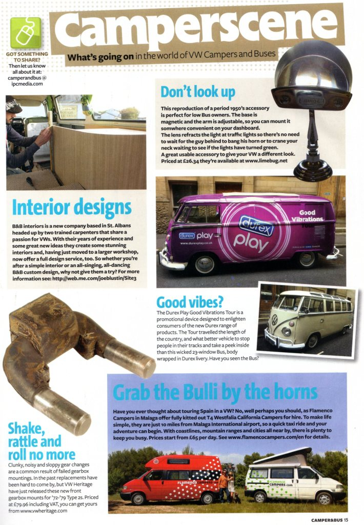 flamenco campers in the magazine volks world camper bus 2 - Flamenco Campers in the magazine Volks World Camper & Bus