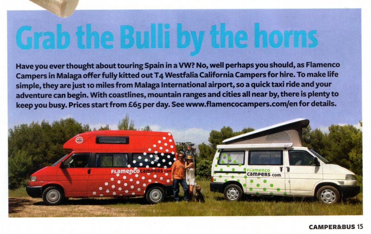 flamenco campers in the magazine volks world camper bus 3 - Flamenco Campers in the magazine Volks World Camper & Bus