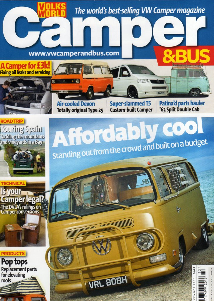 flamenco campers in the magazine volks world camper bus - Flamenco Campers en la revista Volks World Camper & Bus