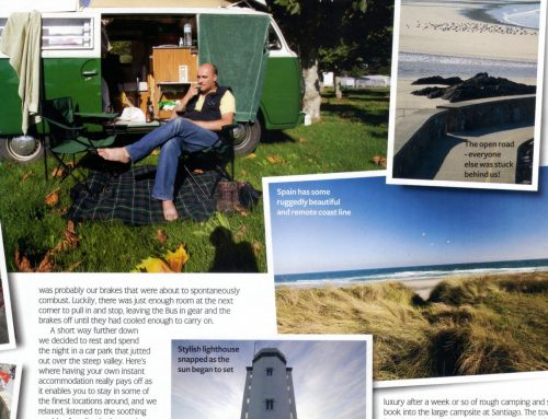 A relaxing tour around the north of Spain on a VW T2 Westy.