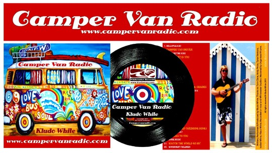 "camper van radio pop art rock music from 60 s 2 - Camper Van Radio, música rock ""Pop Art"" de los 60."