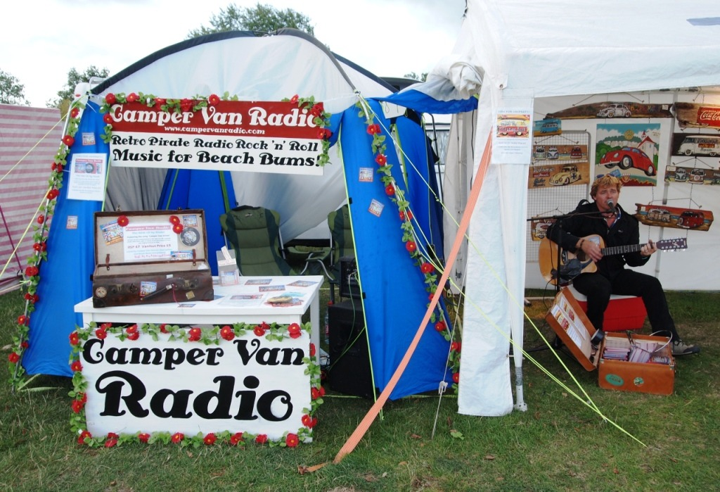 "Camper Van Radio, ""Pop Art"" rock music from 60's."