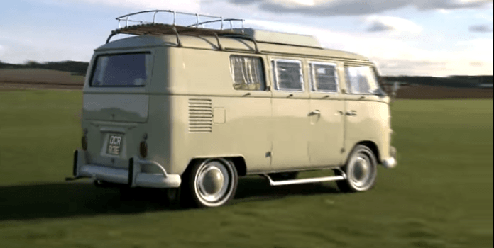 t1 - VW Split Screen Camper Van