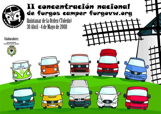 Concentración Nacional de Furgonetas Camper furgovw.org