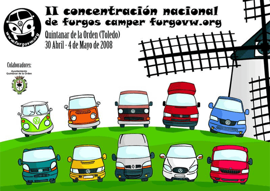 concentracion nacional de furgonetas camper furgovw org - Concentración Nacional de Furgonetas Camper furgovw.org