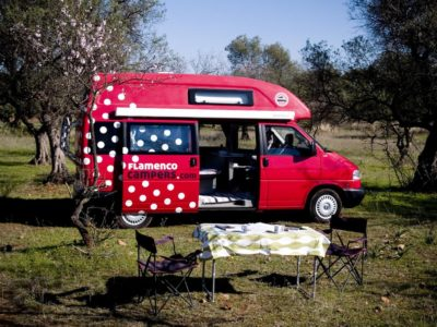 travelers experiences on our campervans - An Andalusian Adventure on a VW Campervan.