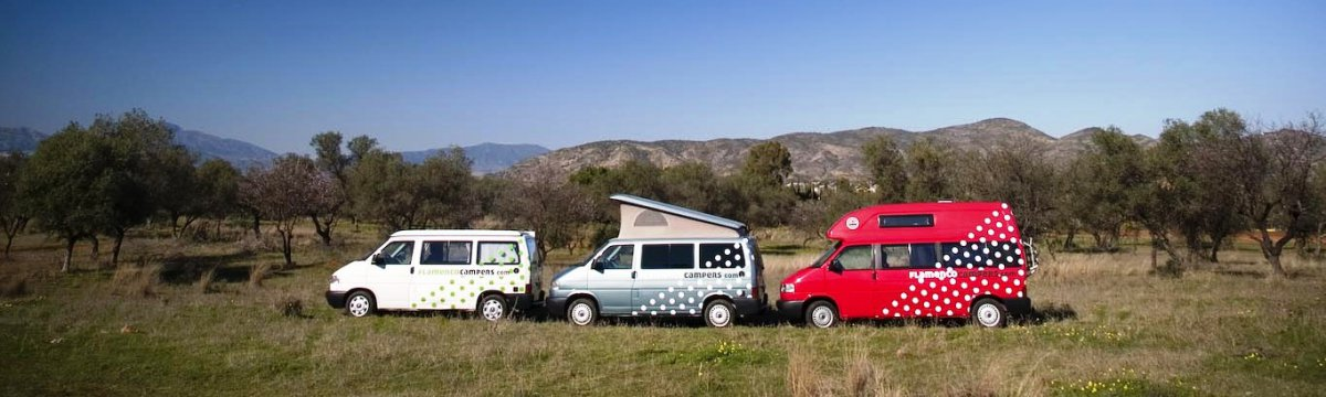 nuestras tres bailaoras - Exploring & Discovering Andalusia by VW Campervan
