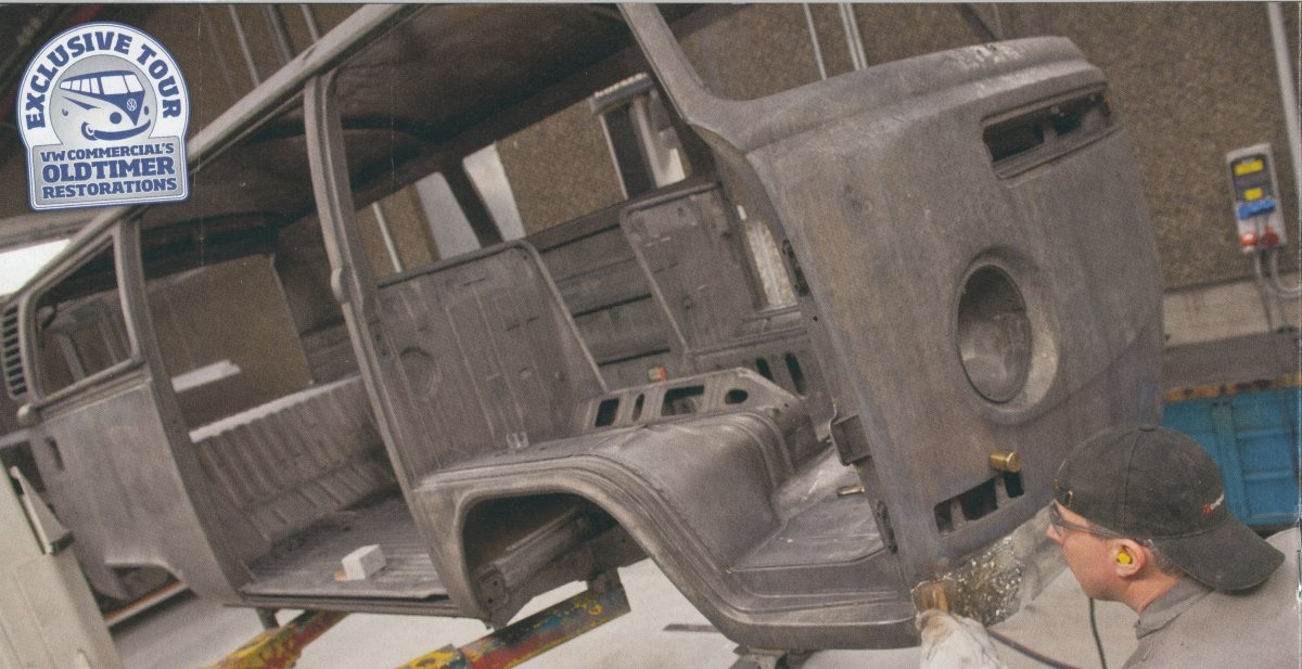 VW%20Oldtimer%20Restaurations - Preserving the past, VW's Oldtimer Collection.