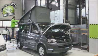 vw california factory - Inside VW's California Factory.