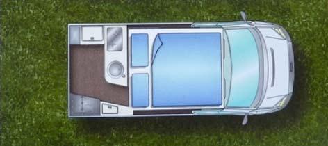 pepa ford nuget 2 - Camper PEPA