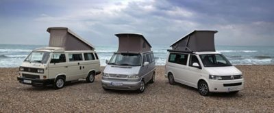 Generations Volkswagen California