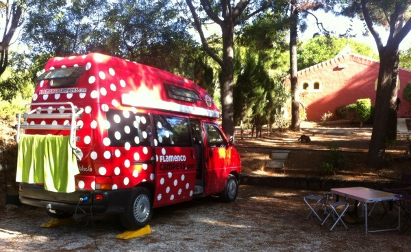 Camping in the Autumn Sun with Flamenco Campers