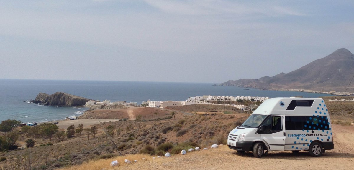 Glamping Camper Trip at Cabo de Gata (Andalucia)