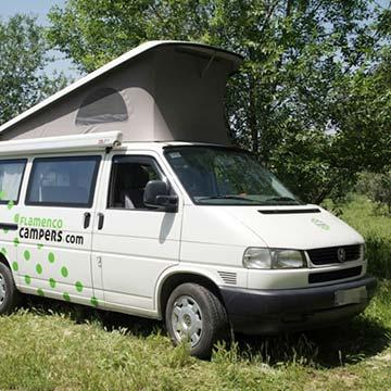 VW Camper Location Espagne