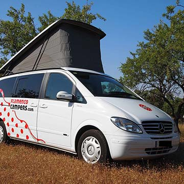 00merche campervan - Campervan hire in Malaga, Andalusia, Southern Spain.