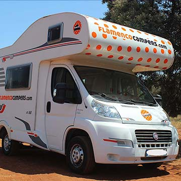 macarena ico - Campervan hire in Malaga, Andalusia, Southern Spain.