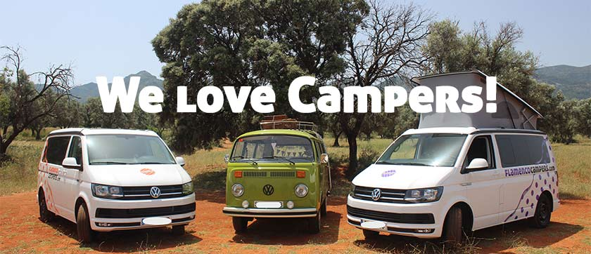 welovecampers - Campervan hire in Malaga, Andalusia, Southern Spain.