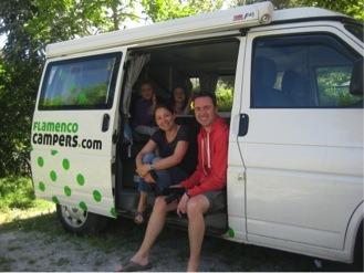 Black1 - Jo, Steve, Izzy (7) & Beth (5), UK