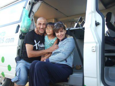 famsalazar - José, Perla & Meili, España