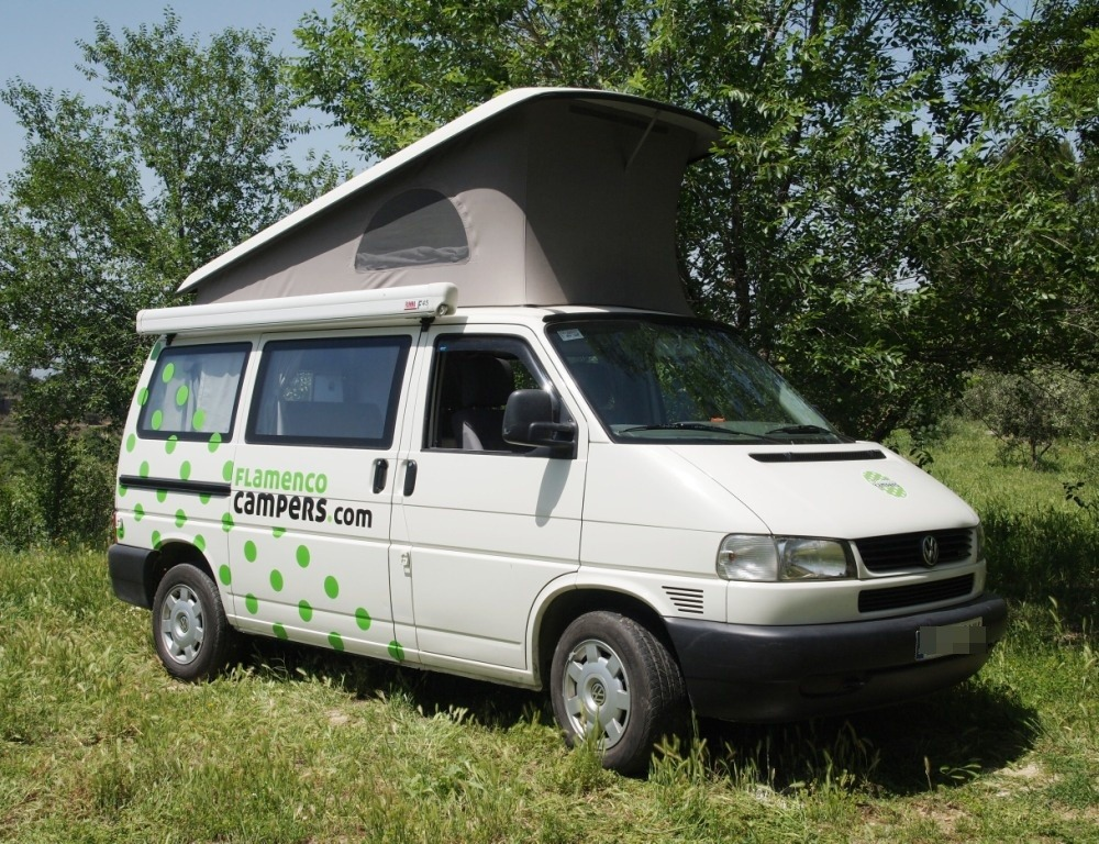hire a vw t4 california westfalia in spain. Black Bedroom Furniture Sets. Home Design Ideas