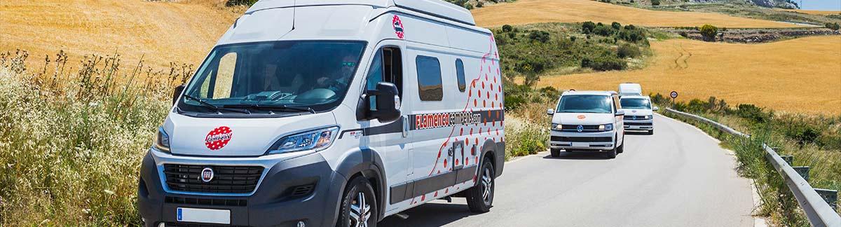 flamenco campers 2017 41 - Explorando y descubriendo Andalucia en una VW Camper.