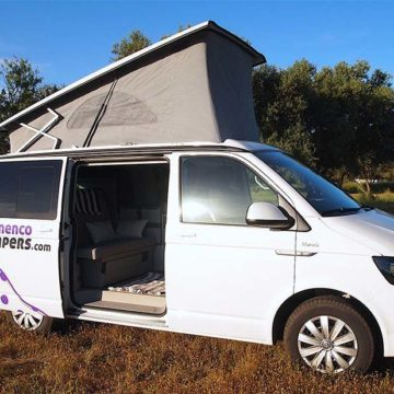 manuela camper 5 e1495710178677 - Campervan hire in Malaga, Andalusia, Southern Spain.