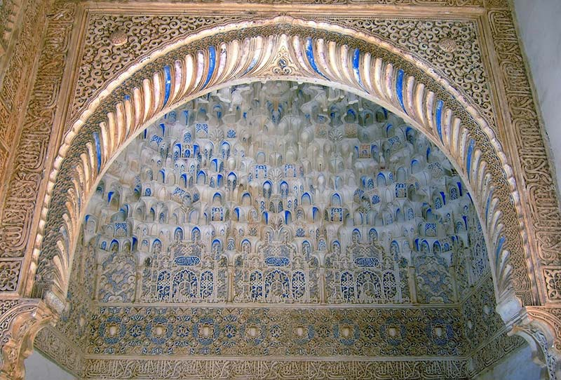 alhambra detail - Discovering Al-Andalus in a Campervan