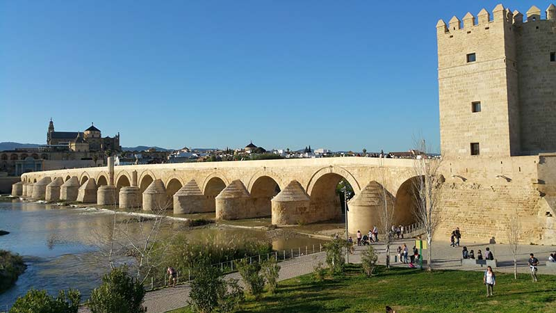 roman bridge of cordoba  - Discovering Al-Andalus in a Campervan