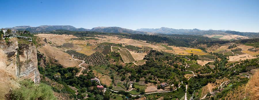 ronda paisaje - Descubre los Pueblos Blancos de Málaga