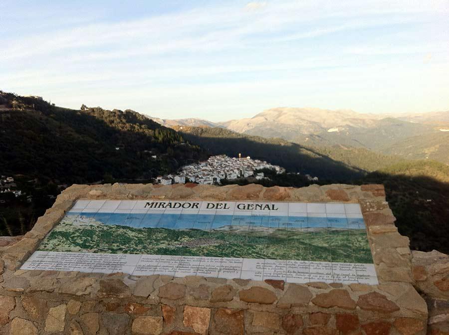valle de genal - Descubre los Pueblos Blancos de Málaga