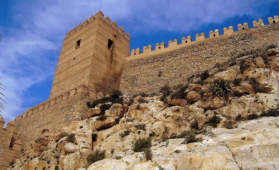 alcazaba almeria gameothrones1 - Game of Thrones in Andalucia