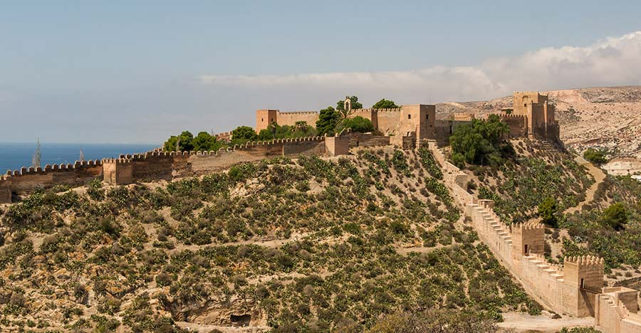 alcazaba almeria gameothrones2 - Game of Thrones in Andalucia