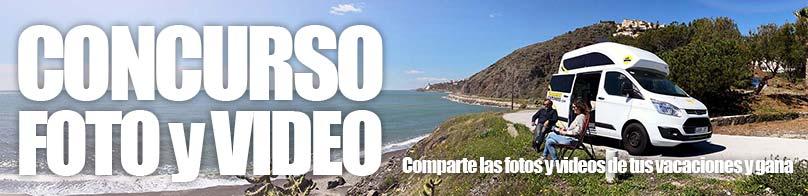 camper concurso - Concurso de vídeo y fotografía