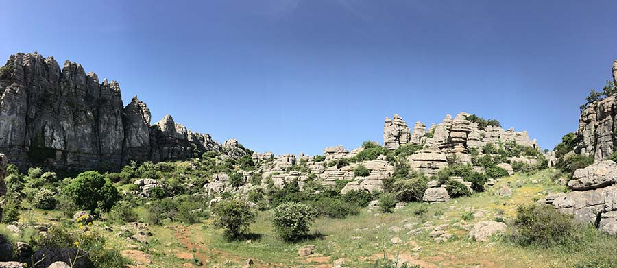 el torcal - Rock Climbing in Andalusia