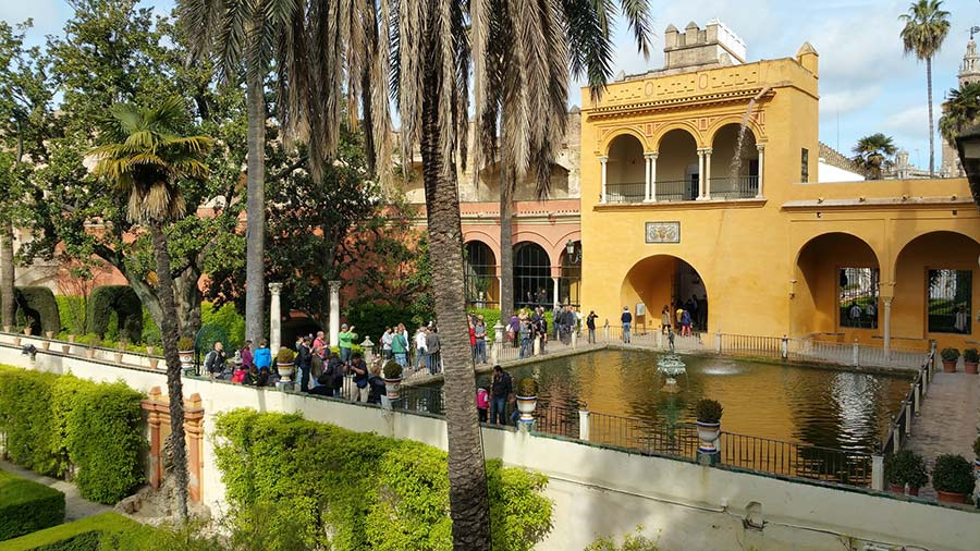 seville alcazaba gameofthrones3 - Game of Thrones in Andalucia