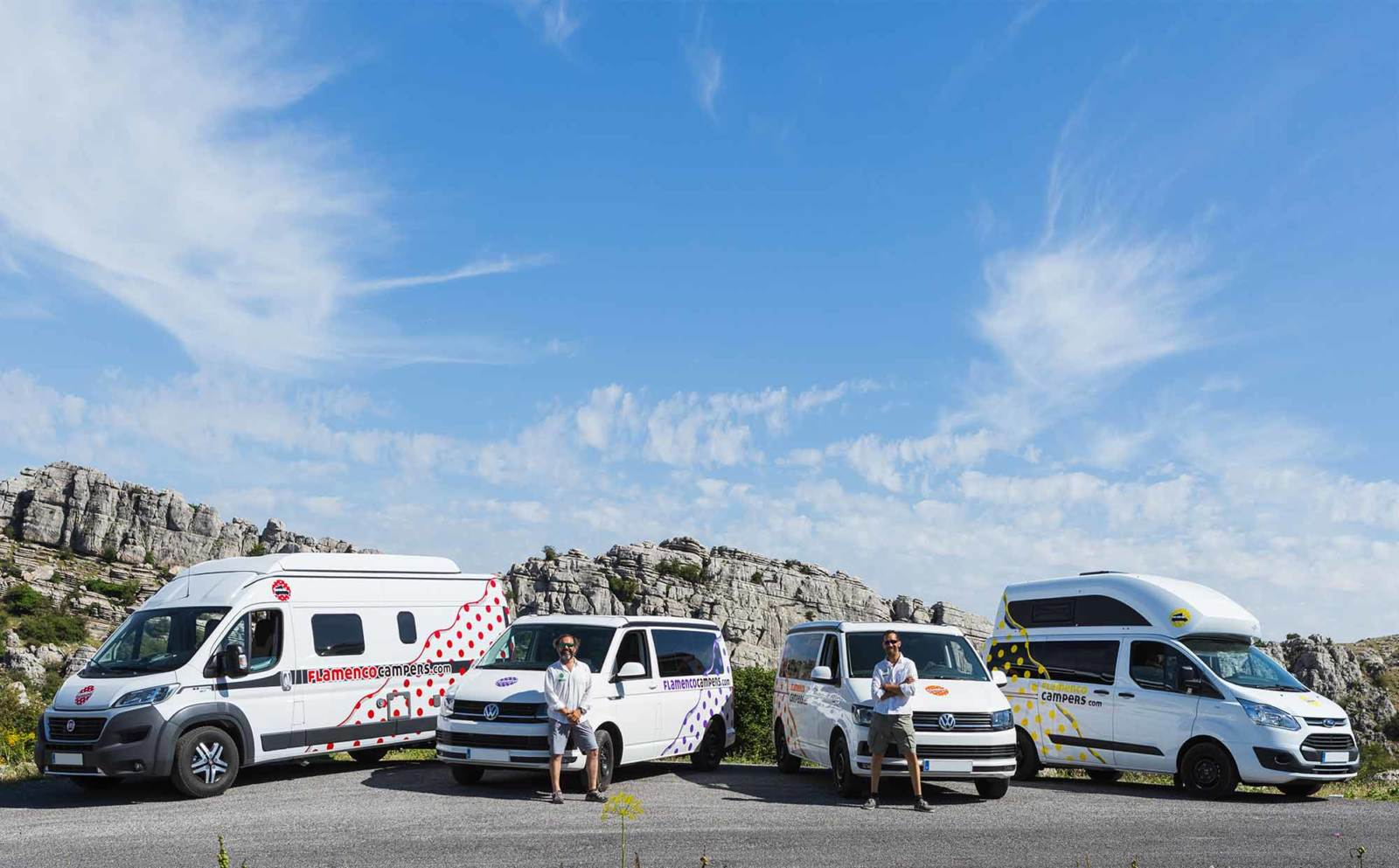 fondoinicio campers - Offers to hire a campervan in Spain. February 2020