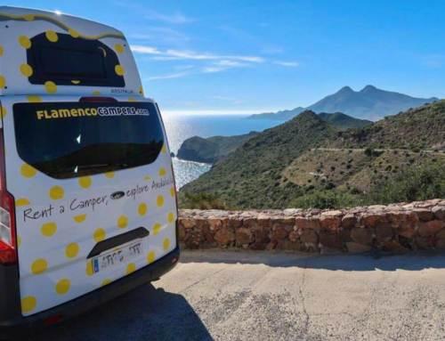 """Concurso """"Grand Tour Andalucía"""". Diseña tu ruta y gana una semana gratis en camper."""