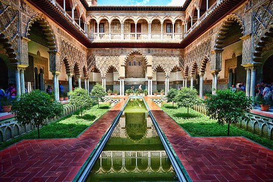 alcazar sevilla - Flamenco Campers blog