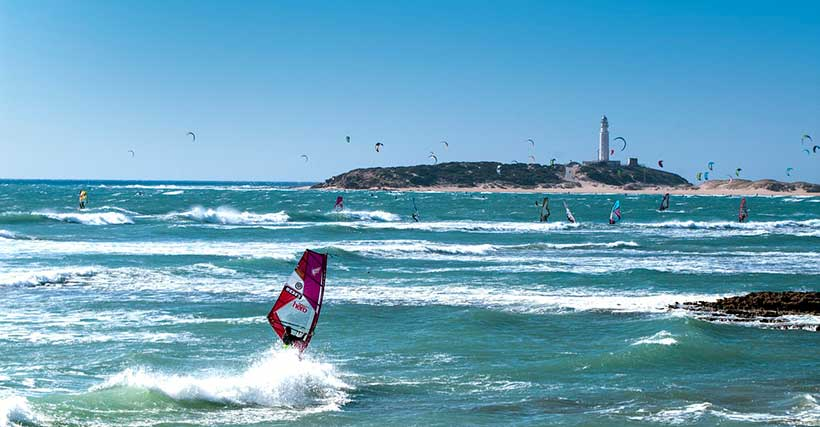beach and windsurfing - 10 Places in Southern Spain You MUST Visit in a Campervan